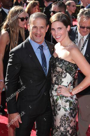 Stock Image of Lauren Bohlander Kanaan and Tony Kanaan