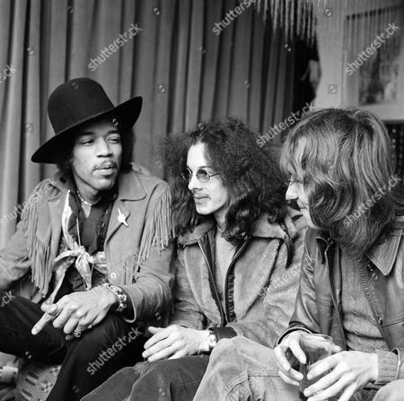 The Jimi Hendrix Experience - Jimi Hendrix, Noel Redding and Mitch Mitchell