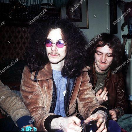 Noel Redding and Mitch Mitchell