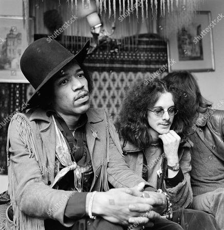 The Jimi Hendrix Experience - Jimi Hendrix and Noel Redding