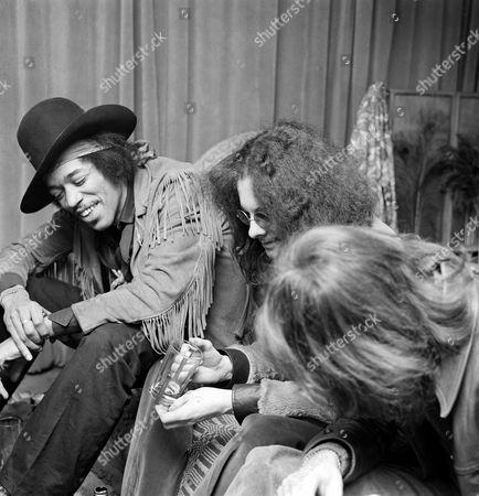 The Jimi Hendrix Experience - Jimi Hendrix with Noel Redding and Mitch Mitchell