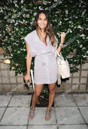 Editorial picture of Evening with Francesca Barrow in Aid of Chasing Zero, London, Britain - 18 Jul 2013