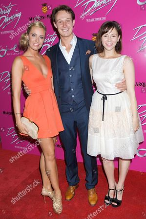 Redakční obrázek na téma 'Dirty Dancing' stage show press night, London, Britain - 17 Jul 2013