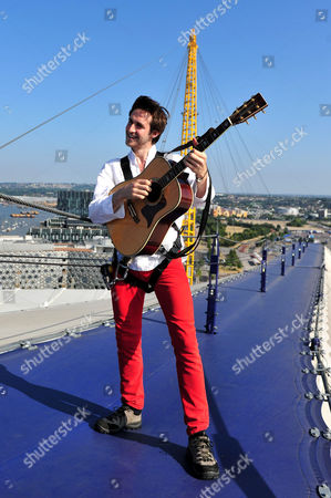 Editorial photo of Robbie Boyd 'Gigs Big Busk' launch at O2, London, Britain - 18 Jul 2013