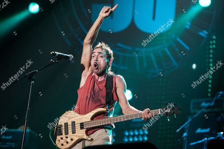 London, Britain - September 22: British Bassist And Songwriter Andy Fraser Performing Live Onstage During The Marshall 50 Years Of Loud Anniversary Concert At Wembley Arena September 22
