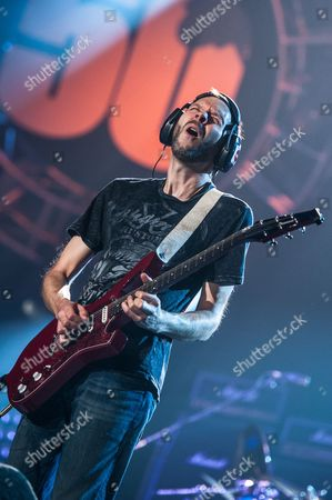 London, Britain - September 22: American Guitarist Paul Gilbert Of Mr. Big Performing Live Onstage During The Marshall 50 Years Of Loud Anniversary Concert At Wembley Arena September 22