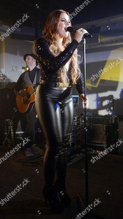 Editorial photo of Daniela Brooker performing at The Beat Club, London, Britain - 18 Jul 2013