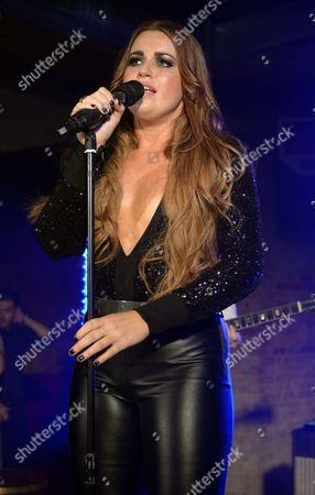 Editorial picture of Daniela Brooker performing at The Beat Club, London, Britain - 18 Jul 2013