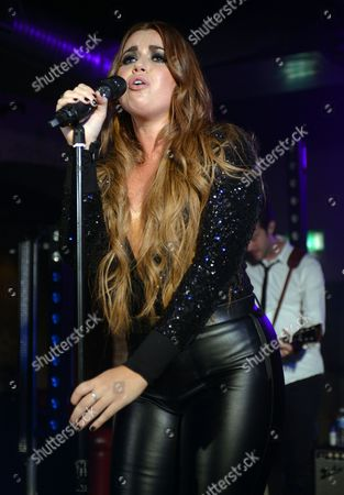 Editorial image of Daniela Brooker performing at The Beat Club, London, Britain - 18 Jul 2013