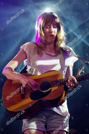 Beth Orton performs on the BBC6 Music Stage