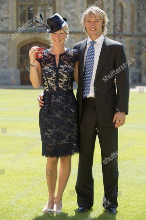Laura Bechtolsheimer MBE and Mark Tomlinson