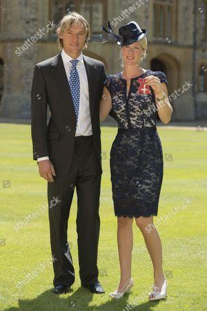 Mark Tomlinson and Laura Bechtolsheimer MBE