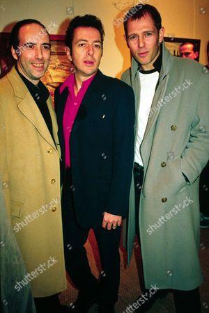 Mick Jones, Joe Strummer and Paul Simonon