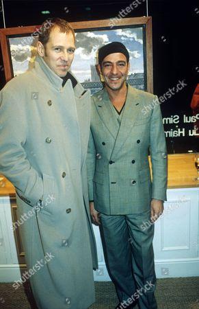 Stock Photo of Simon and John Galliano