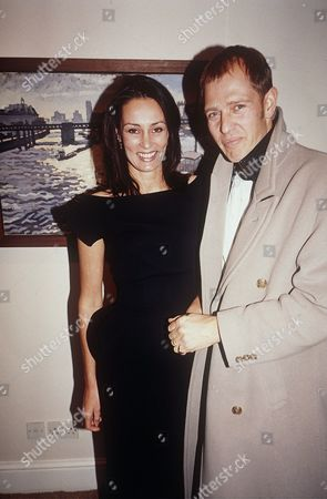 Stock Picture of Yasmin Le Bon and Paul Simonon