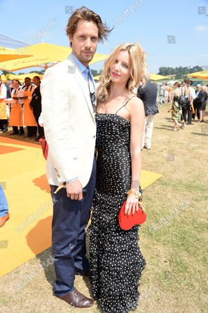 Stock Photo of James Rousseau and Annabelle Wallis