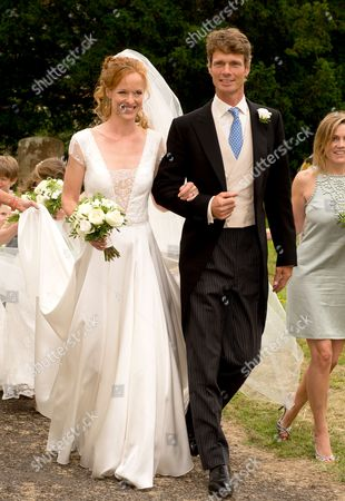 Stock Image of Alicia Fox-Pitt and William Fox-Pitt