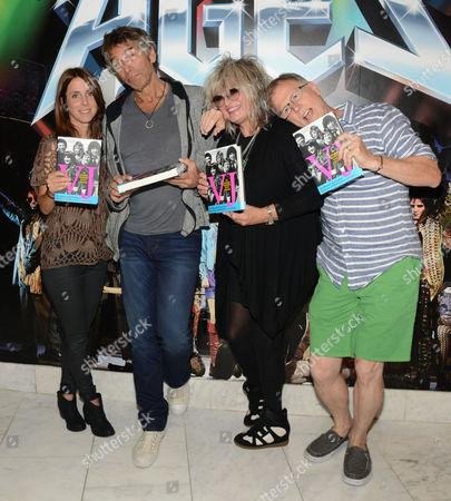 Stock Image of Martha Quinn, Mark Goodman, Nina Blackwood and Alan Hunter