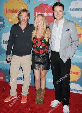 Sam Trammell, Anna Camp and Michael McMillian