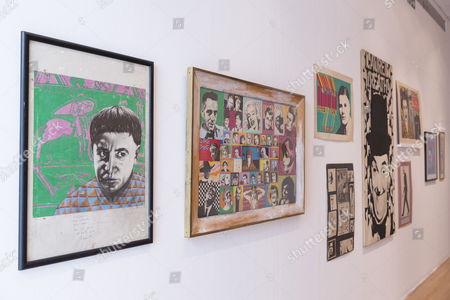 Selection of artwork by Ian Dury