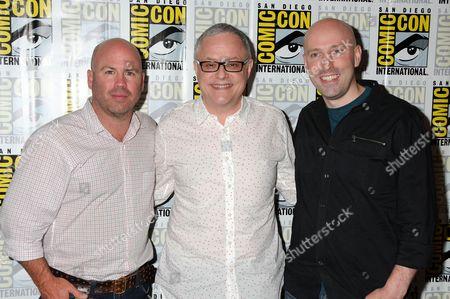 Justin Falvey, Neal Baer, Brian K. Vaughan