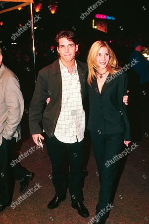 Sean Maguire and Lisa Faulkner