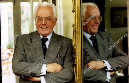 Actor Brian Rix (now Baron Rix) At His Wimbledon Home.