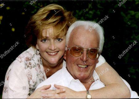 Actor Brian Rix (baron Rix) With His Actress Daughter Louisa Rix.