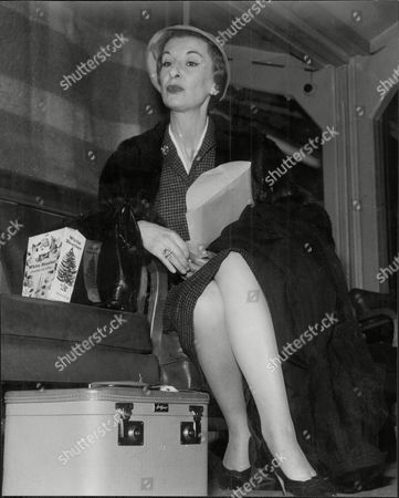 Editorial image of Actress Patricia Jessel (died June 1968).