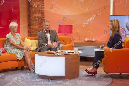 Clare Byam-Cook, Dr Hilary Jones and Presenter Kate Garraway