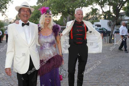 Editorial image of Concordia Sommerfest, Beach Club Marbella Club Hotel, Spain - 20 Jul 2013