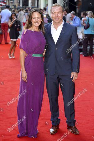 Sarra Kemp and husband Sir Chris Hoy