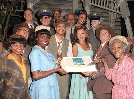 Editorial photo of 'The Trip to Bountiful' play, 100th Performance on Broadway, Stephen Sondheim Theatre, New York, America - 23 Jul 2013