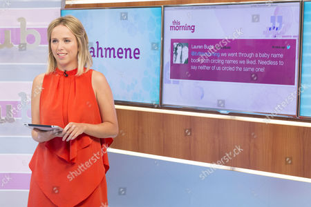 Editorial image of 'This Morning' TV Programme, London, Britain - 24 Jul 2013