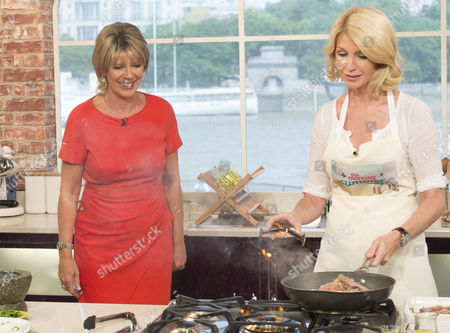 Ruth Langsford and Yvonne Keating