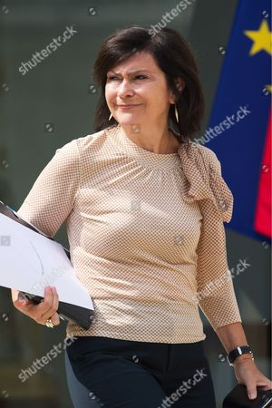 Editorial photo of Cabinet meeting, Elysee Palace, Paris, France - 24 Jul 2013
