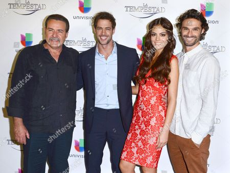 Editorial picture of Univision's 'La Tempestad' telenovela premiere, Los Angeles, America - 23 Jul 2013