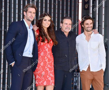 William Levy, Ximena Navarrete, Cesar Evora and Ivan Sanchez