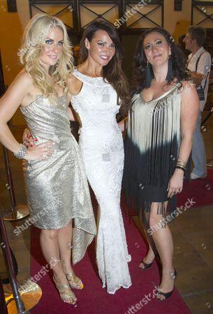 Pippa Fulton (Vicci), Lizzie Cundy (Zoe) and Alyssa Kyria (Ariadne)