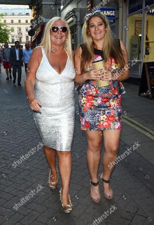 Vanessa Feltz with her daughter Saskia Kurer