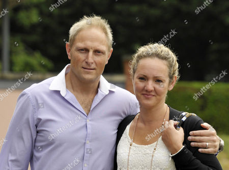 Sergeant Danny Nightingale and his wife Sally