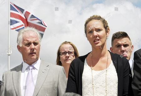 Sally Nightingale addresses the media after the sentencing