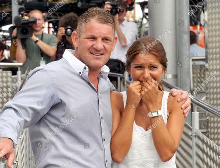 Dean Windass and Gemma Oaten