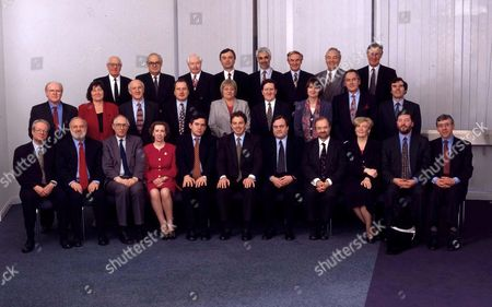 Editorial photo of LABOUR SHADOW CABINET - 1997