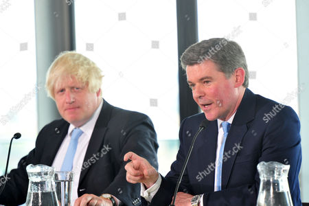Boris Johnson and Hugh Robertson