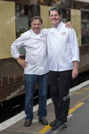 Editorial image of Raymond Blanc launches pop-up dining aboard a British Pullman train, Victoria Station, London, Britain - 26 Jul 2013