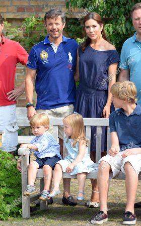 Editorial image of Danish royal family summer photocall, Grasten Castle, Denmark - 26 Jul 2013
