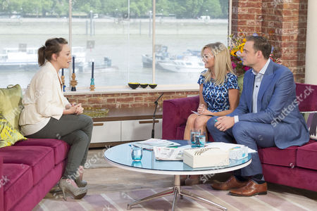 Sian Reese-Williams with Presenters Jamie Theakston and Emma Bunton