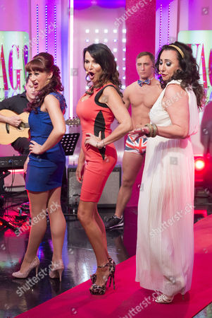 Stock Picture of Nia Jermin, Lizzie Cundy and Alyssa Kyria