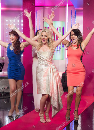 Nia Jermin, Pippa Fulton and Lizzie Cundy